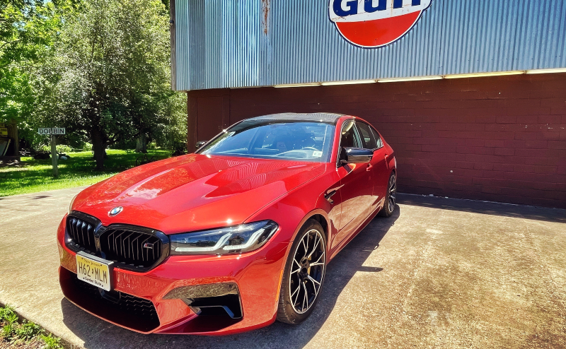 East Texas in the BMW M5 Competition