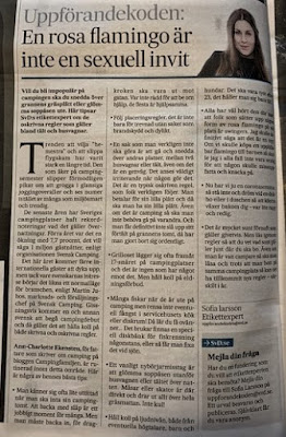 tidningsurklipp