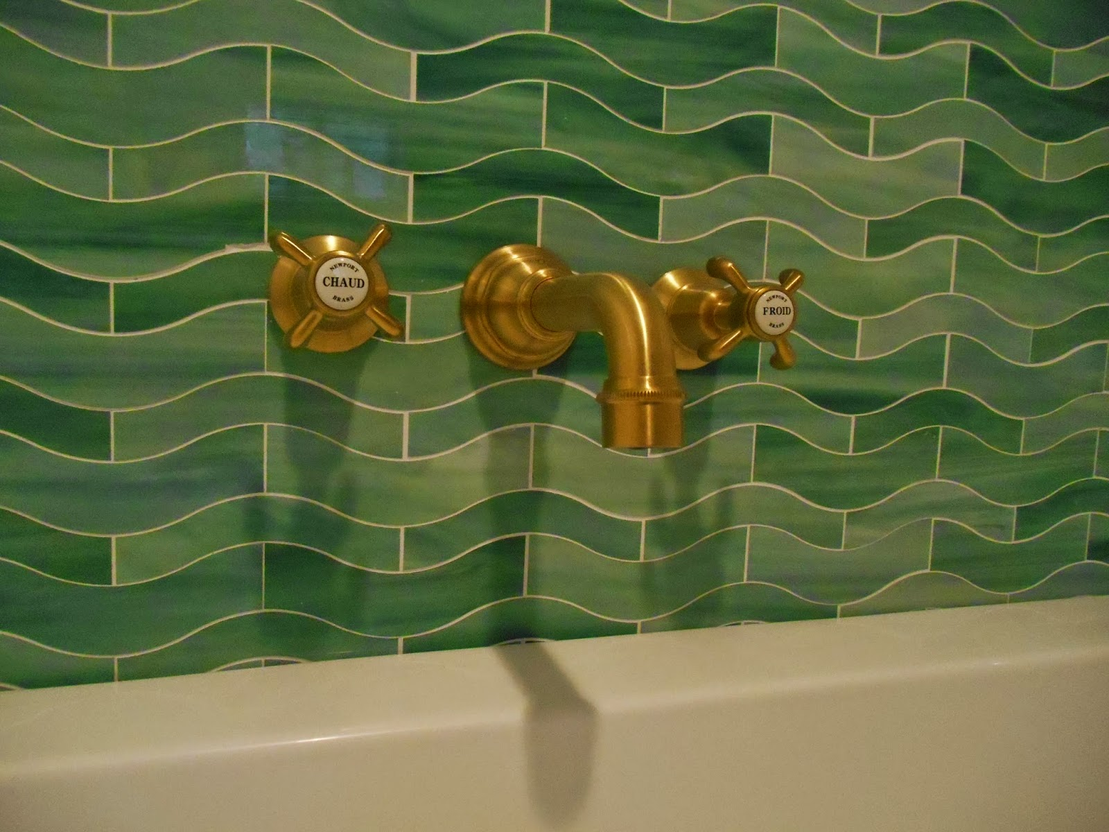 My Notting Hill Our Bathroom Progress Tub & Faucets