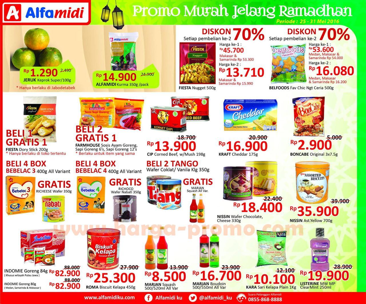 Katalog Promo Alfamidi Terbaru Promo Murah Jelang Ramadhan Periode 25 31 Mei 2016 Up To Date Post