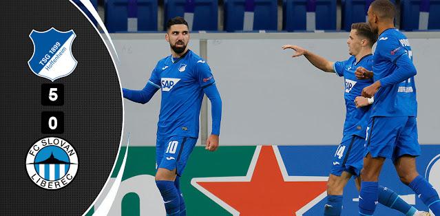Hoffenheim vs Slovan Liberec – Highlights