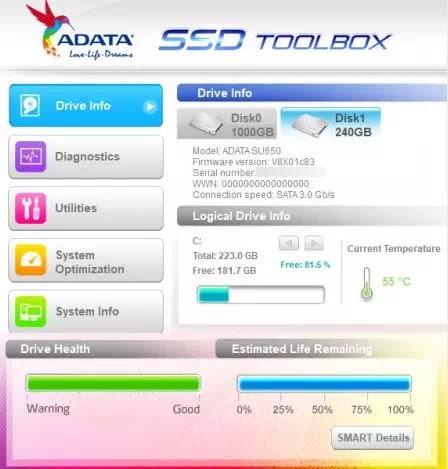 Software Untuk Mengecek Kesehatan SSD-5