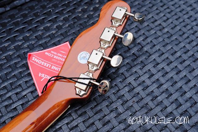 Fender Zuma Ukulele tuners
