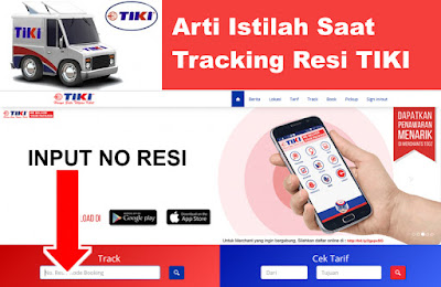 Inilah arti Shipment, Departed, transit, Packing List di TIKI