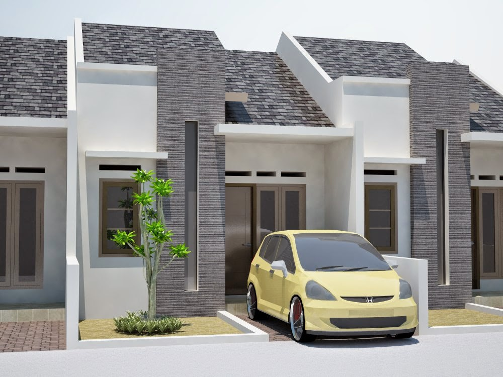 Desain Rumah  Minimalis Type  21