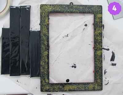 DIY bandeja espelhada - passo 4