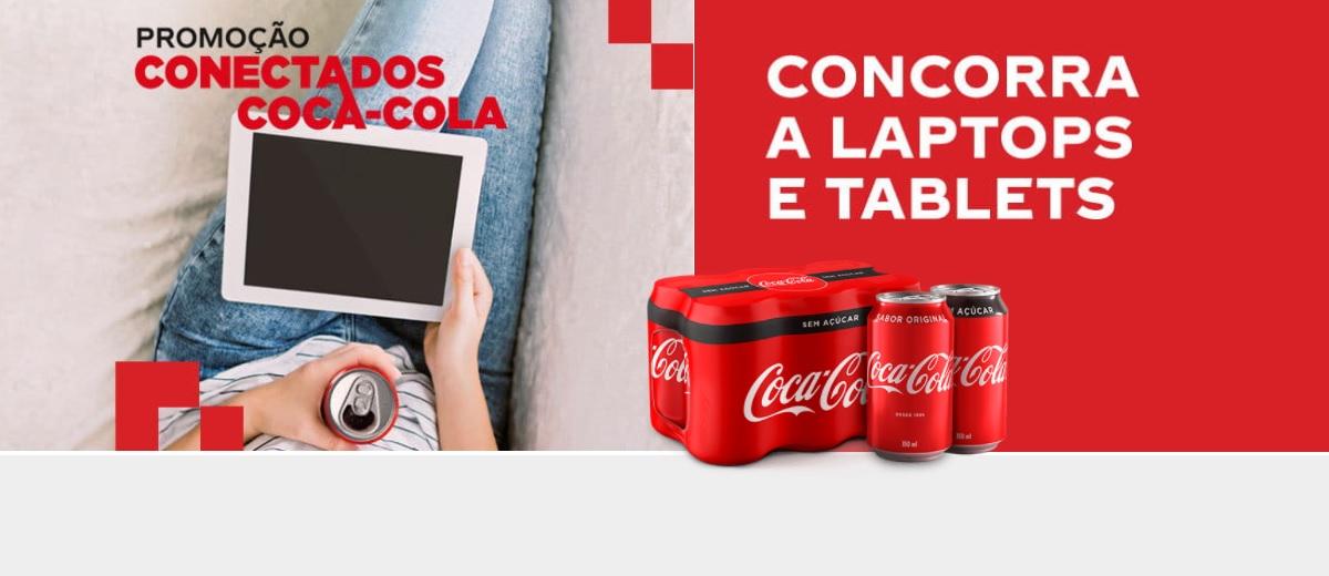 Conectados Promoção Coca-Cola Notebooks Tablets