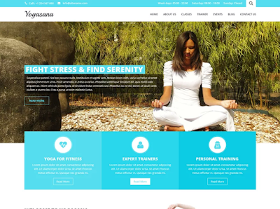 SKT Yogi Lite Wordpress Theme Free Download