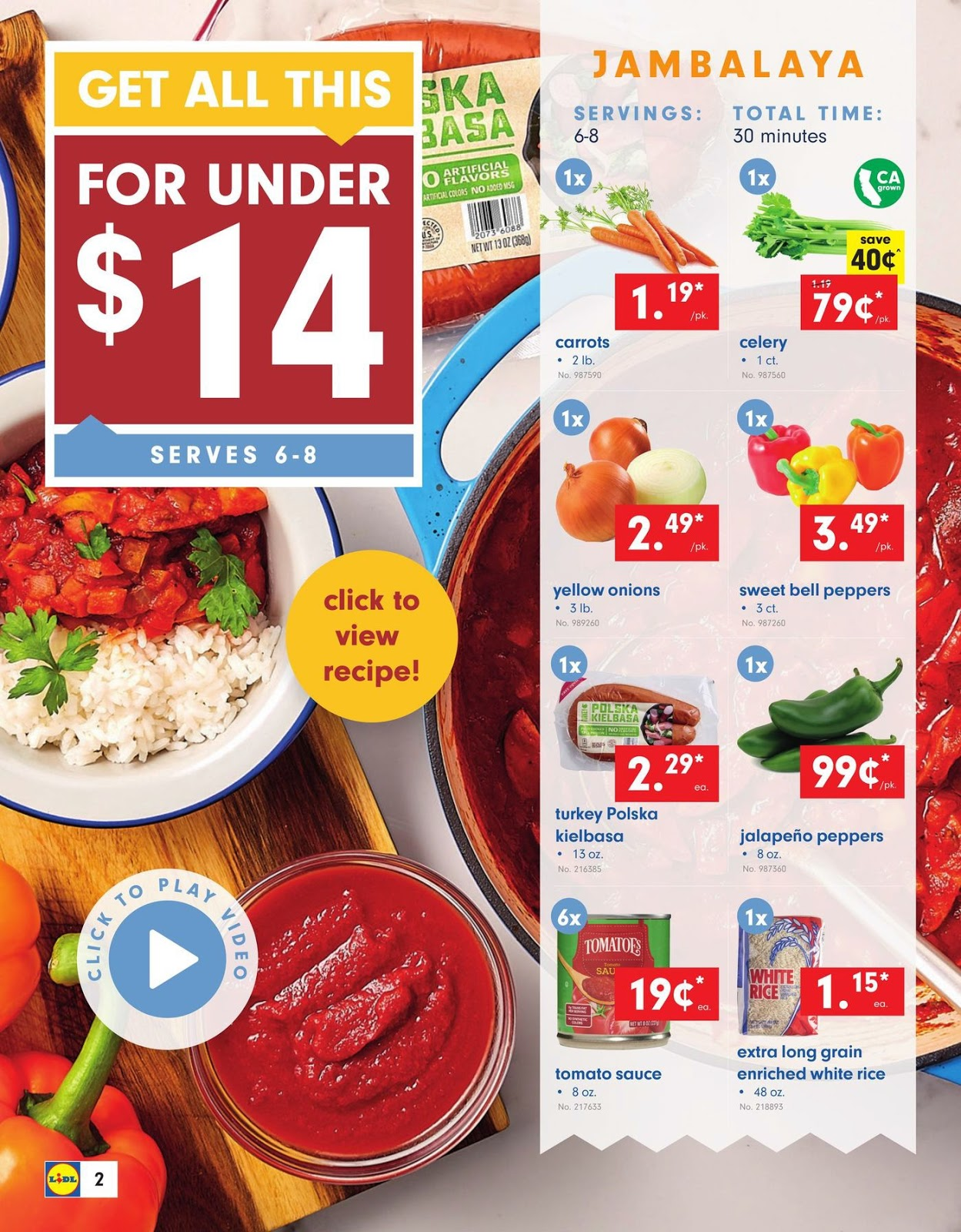 Lidl Weekly Specials September 11 - 17, 2019