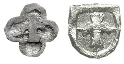 """herb Snopek w  tarczy w kształcie """"rozety"""" półtorak 1616 SIGIS III"""