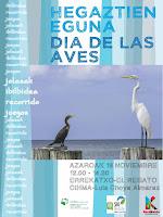 Cartel del día de las aves
