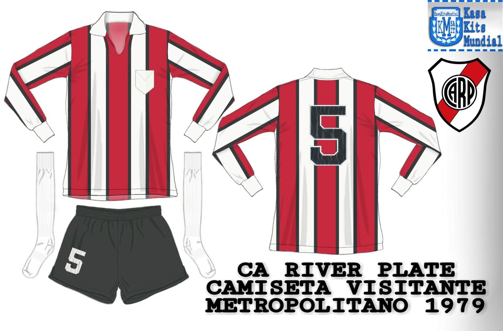 Resultado de imagem para camiseta river plate 1979