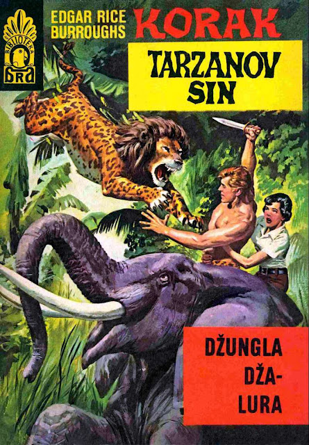 Dzungla Dza-Lura - Korak (Tarzanov Sin) - Tarzan