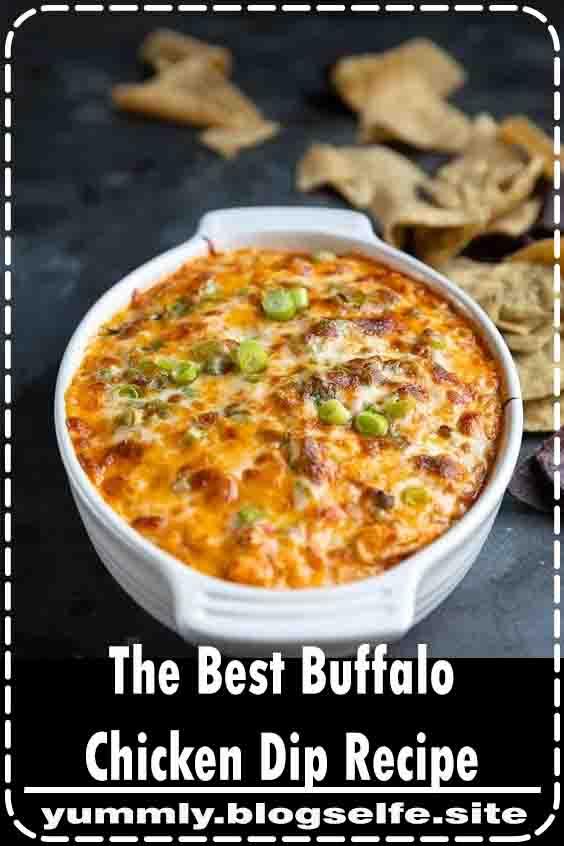 The Best Buffalo Chicken Dip Recipe