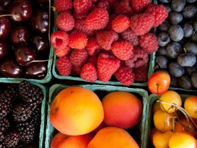 giảm cân với hoa quả