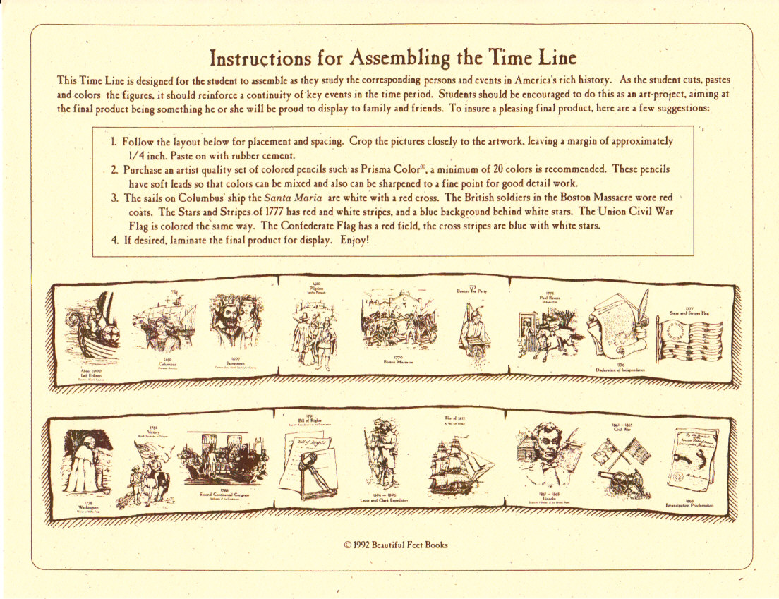 Beautiful Feet Books Blog Product Feature Timelines