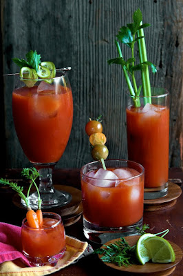 Bloody Mary's are the perfect beverage for brunch