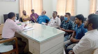কানাইঘাট স্বাস্থ্য কমপ্লেক্সের নবাগত টিএইচও'র মতবিনিময়