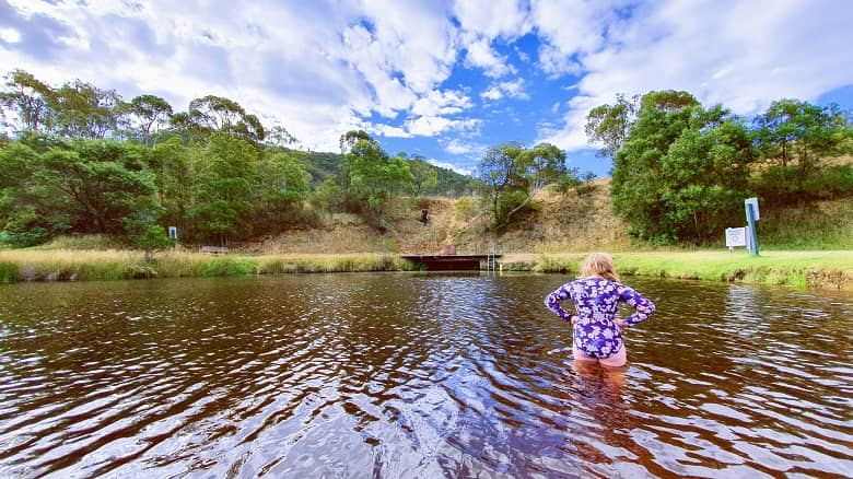 Omeo River Swiming Pool