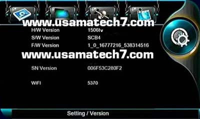 1506tv SCB4 Menu Receivers Softwares with IPTV