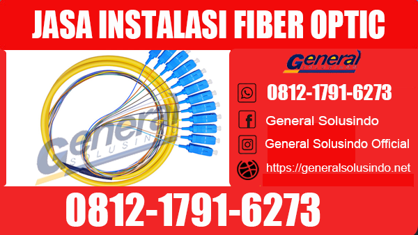 Jasa Instalasi Fiber Optic Bondowoso