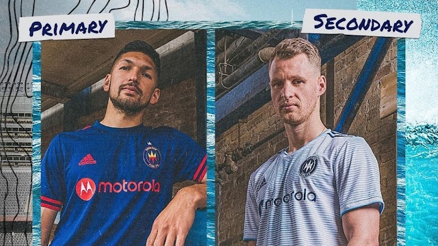Chicago Fire 2021 Home & Away Kits
