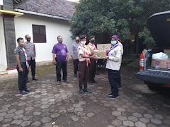 Kwarda Jateng Serahkan 1000 Masker Untuk Anggota Pramuka Dan Petugas Keamanan Di Pos Pam