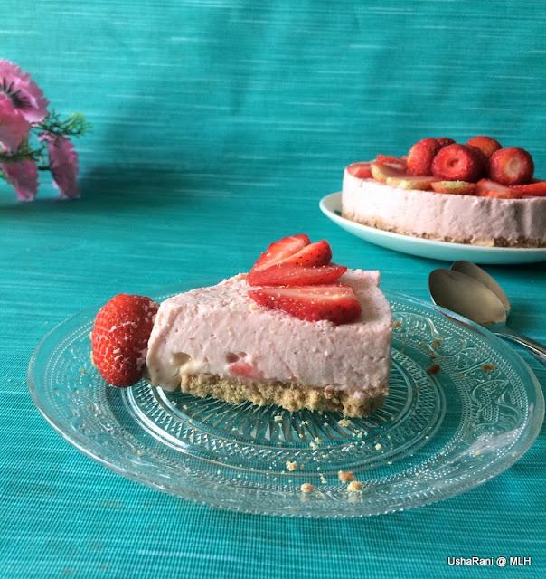 Strawberry Gelatin Cake Filling