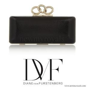 Princess Sofia style Diane von Furstenberg Sutra lizard clutch