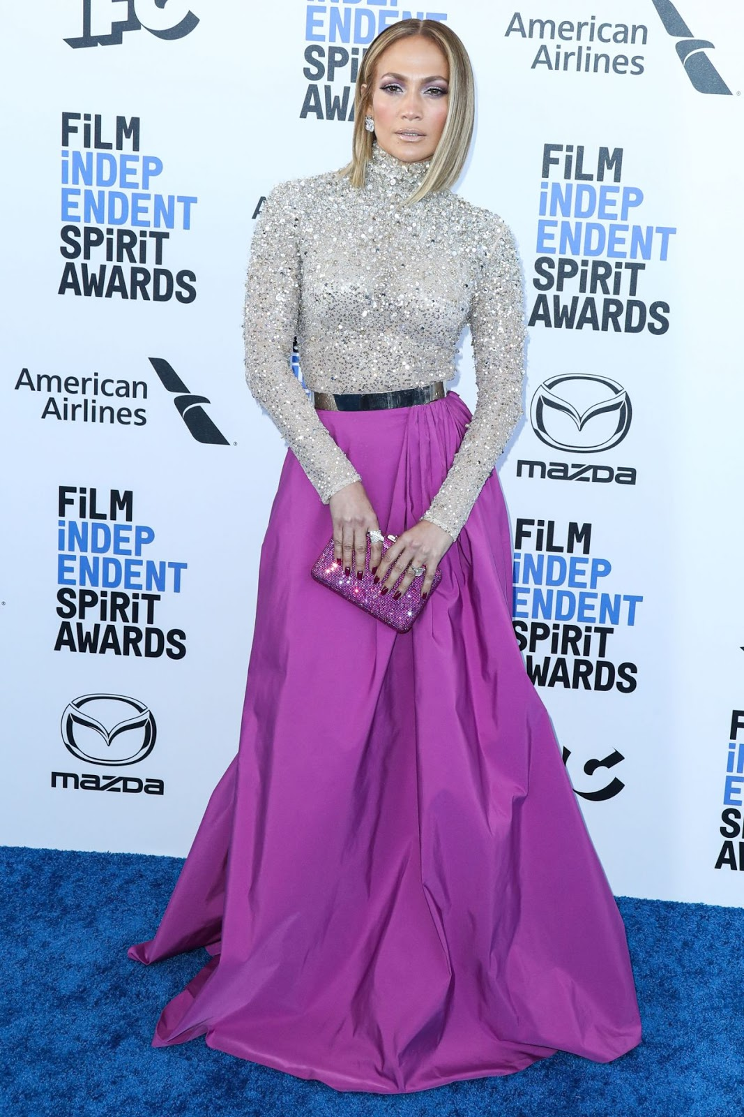 Jennifer Lopez In Valentino – 2020 Film Independent Spirit Awards