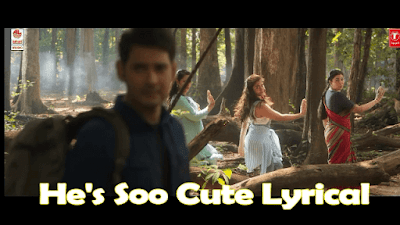 [ Genuine ] He's Soo Cute Lyrics | Sarileru Neekevvaru | Telugu