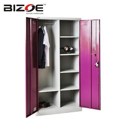 ตู้เสื้อผ้าแฟชั่น BIZOE CC-DZA ชมพู
