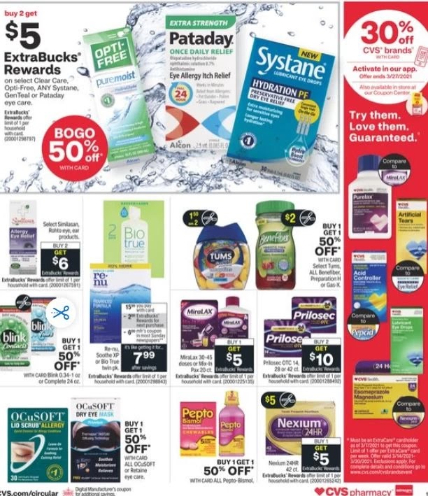 CVS Weekly Ad Preview 3/7-3/13