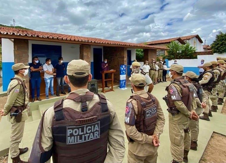 Inaugurada a nova sede da Polícia Militar em Itaetê