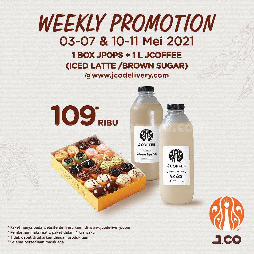 JCO Weekly Promotion  3 - 7 Mei 2021