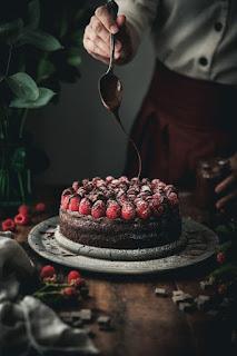 summer raspberry cake my cafe