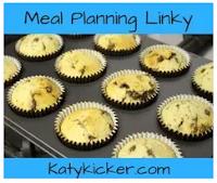 Katy Kickers meal planning linky