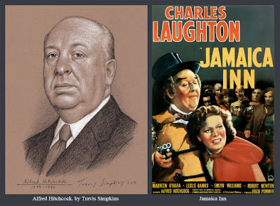 Alfred Hitchcock. The Master of Suspense. Film Director. Jamaica Inn. by Travis Simpkins