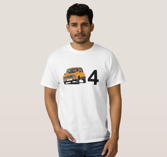 Renault 4L t-shirts