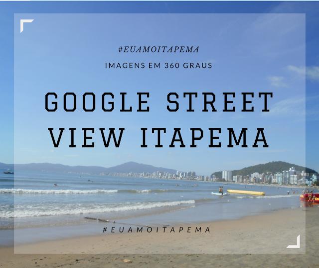 Google street view de Itapema imagens em 360º graus