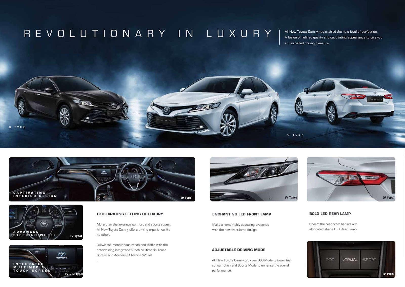 All New Camry - Info Promo & Harga Toyota Camry Bali 2020