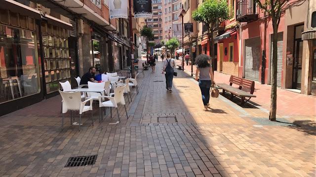 Foto de archivo de la calle Zaballa