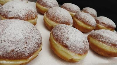 Recept za Krafne Krofne Krapfen Donuts Doughnuts