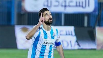 عبدالله السعيد يتقدم بالشكر لادارة وجهاز بيراميدز ويهنئ الزمالك بالفوز بالكونفدرالية