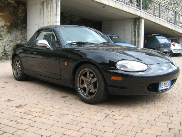 jdmbits rota grid 15x7 fitted on mazda mx5 nb. Black Bedroom Furniture Sets. Home Design Ideas