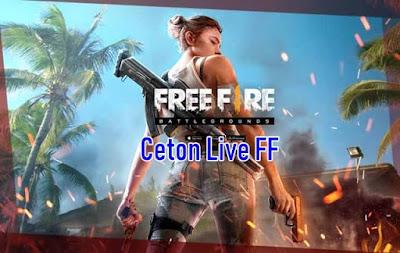 Ceton Live FF untuk Dapat Coin & Diamond Free Fire Gratis