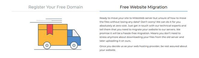 MilesWeb Register Domain