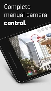complete manual camera control