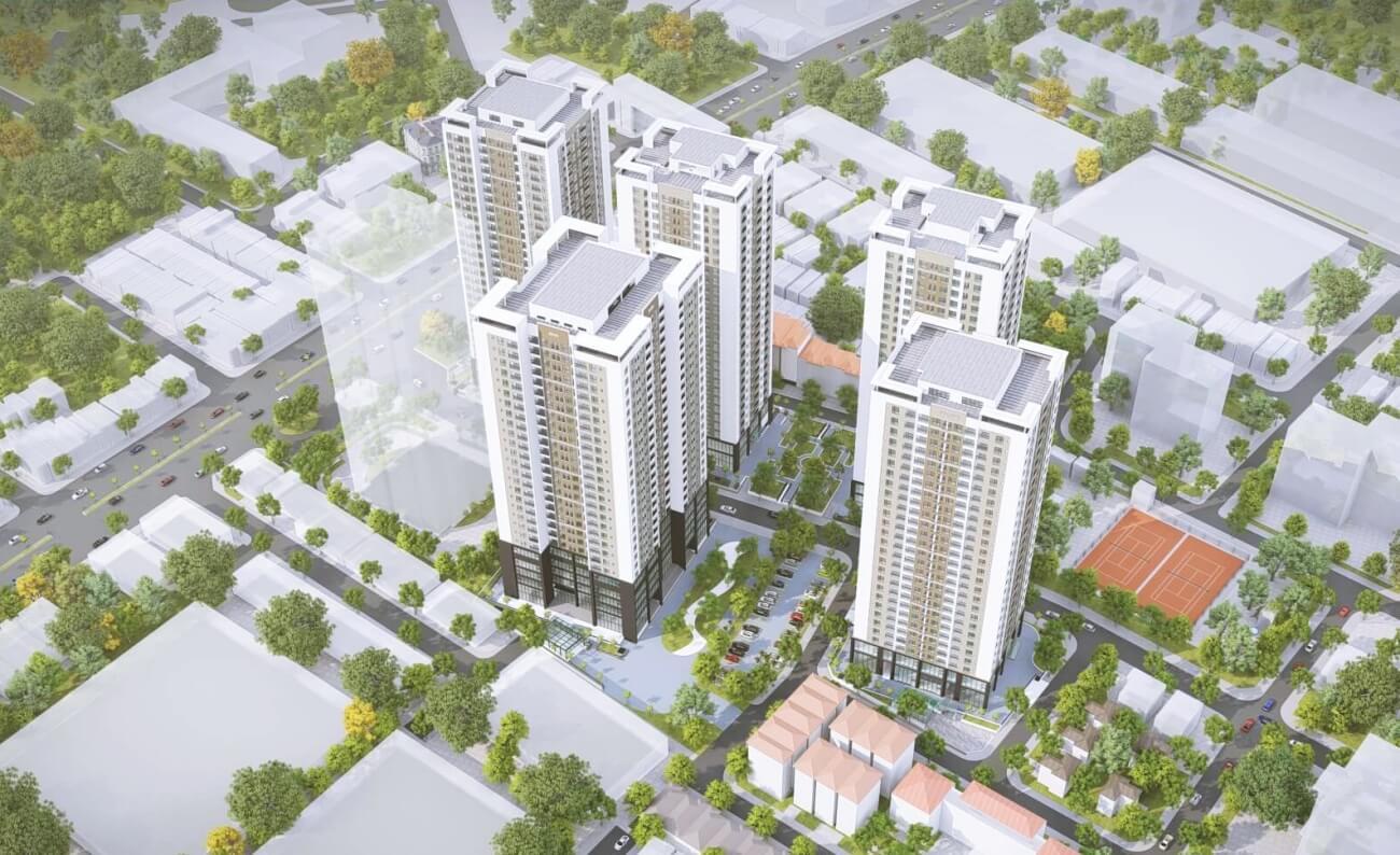 Rose Town - căn hộ tầm trung hút khách cuối năm