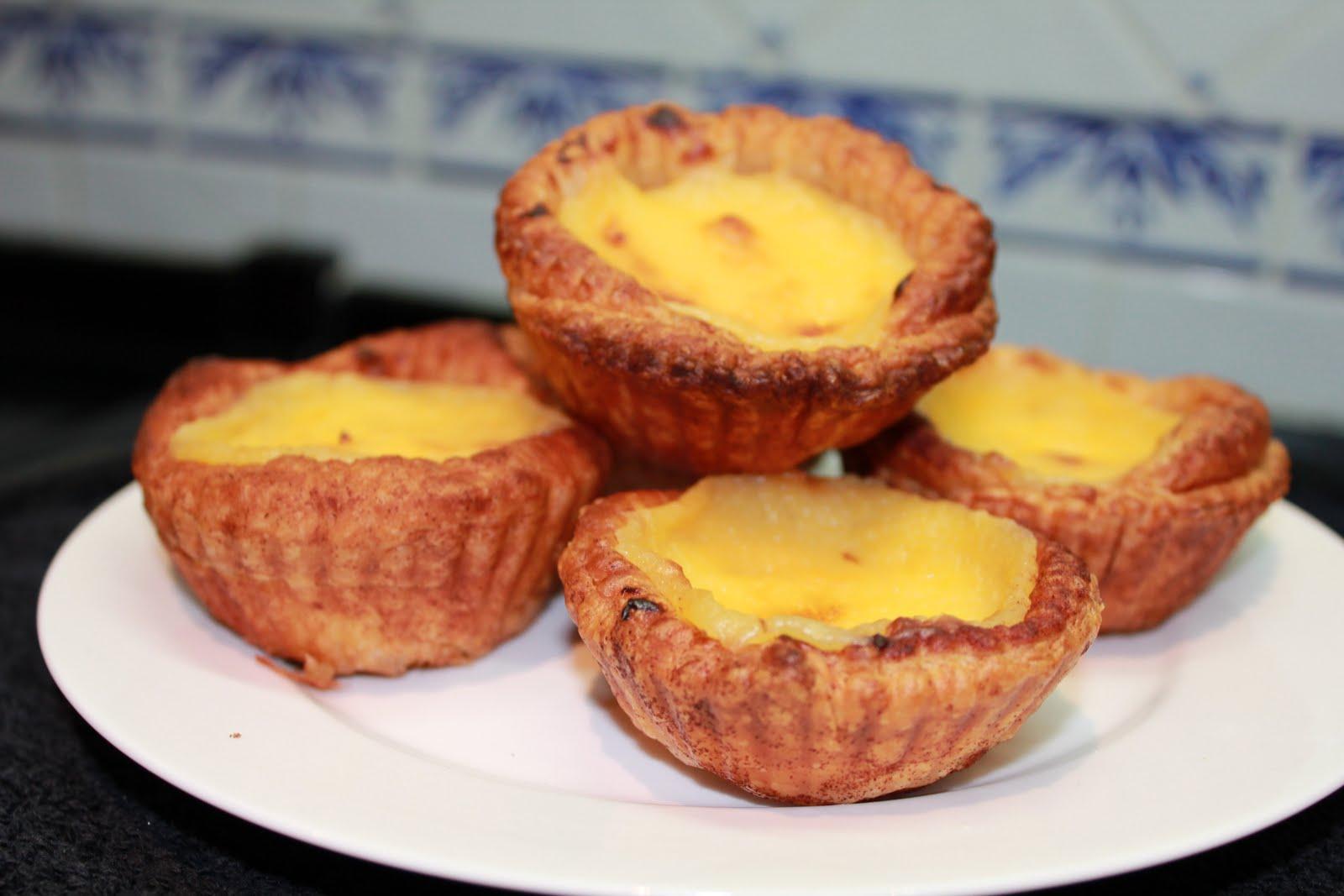 The Baking Dad: Portuguese Tarts Recipe (Pastels de nata)